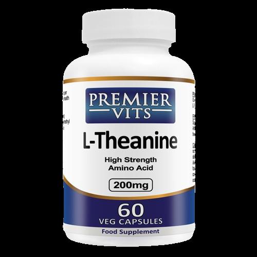 LTheanine 200mg 60 Vegetarian Capsules