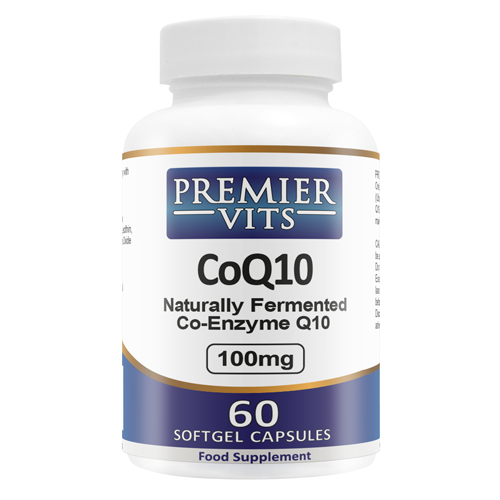 CoQ10 - 100mg - 60 Softgels