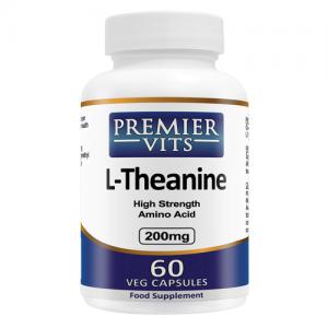 L-Theanine - 200mg - 60 Vegetarian Capsules