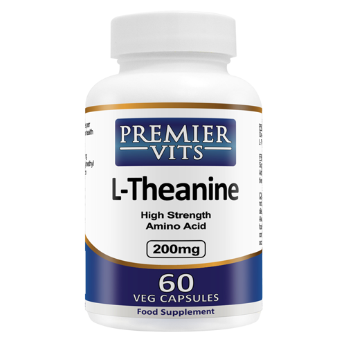 L-Theanine - 200mg - 60 Vegetarian Capsules