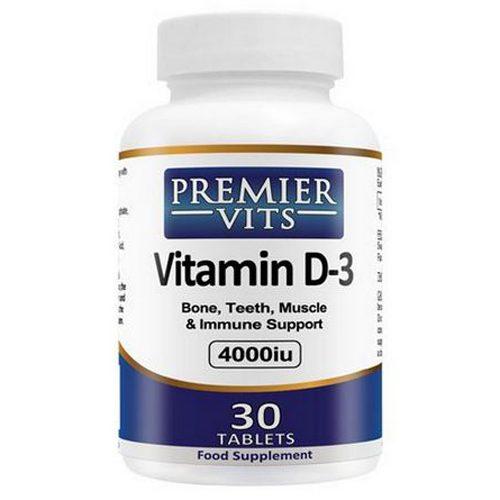 Vitamin D3 - 4000iu - 30 Vegetarian Tablets