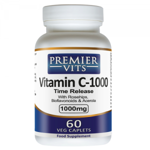 Vitamin C-1000 - 1000mg - 60 Time Release Vegetarian Capsules