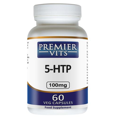 5-HTP - 100mg - 60 Vegetarian Capsules