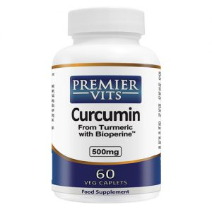 Curcumin (Tumeric) - 500mg - 60 Vegetarian Capsules