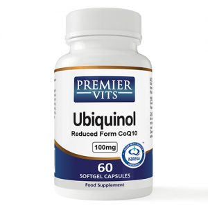 Ubiquinol - 100mg - 60 SoftGels - Kaneka QH