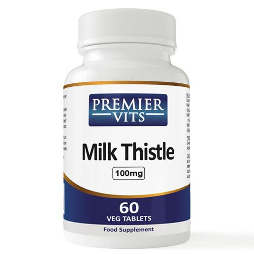Milk Thistle - 100mg - 60 Vegetarian Tablets