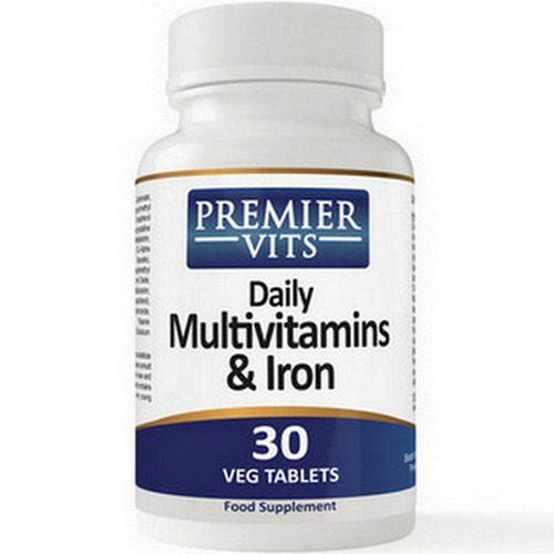 Multivitamin & Iron - 30 Vegetarian Capsules